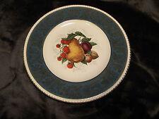 Solian Ware Simpsons Potters LTD Cobridge England fruit design dinner plate
