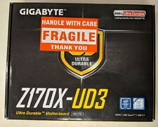 Gigabyte ga-z170x-ud3 (REV. 1.0) LGA 1151 Intel z170 HDMI SATA 6gb/s #eb6252