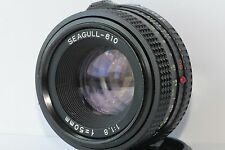Seagull-610  50mm f/1.8  Chinese Lens Mounting bayonet