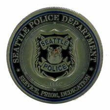 USA: Coin Seattle Police Department-Saint Michael