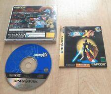 Rockman X4 Mega Man Megaman - SEGA Saturn - NTSC-J JAP JAPAN - Très Bon Etat TBE