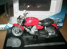 SOLIDO 1/18 MOTO DUCATI GT 1000 ROUGE RED !!