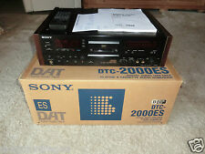 Sony DTC-2000ES High-End DAT-Recorder, 4-Head Version, OVP&NEU, 2J.Garantie