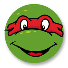"""Pin Button Badge Ø25mm 1"""" Tortues Ninja Teenage Mutant Turtles TMNT Raphael"""