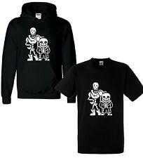 New Kids Undertale Sans Papyrus Hoodie Hoody T shirt Gaming Boys Girls Christmas