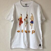 UNIQLO CAPCOM Street Fighter Shoryuken UT MEN'S Graphic White T-Shirt S-XL