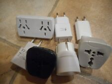 Lot Of 7 Foreign Power Adapters Usb