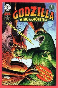 Godzilla, King Of The Monsters Vol. 1 #4 FN 6.0 Dark Horse Comics 1995