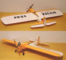 "Model Airplane Plans (UC): Berkeley WEE DUPER ZILCH 34½"" Stunt .074-.099 (1951)"