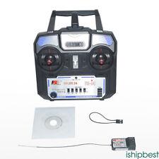 Trasmettitore di telecomando 2,4GHz & A6 ricevitore 4 canali per RC Flysky FS-i4