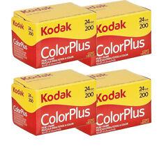 4 Rolls Kodak ColorPlus Color Plus 200 ASA 135-24 Exp. 35mm Film, US SELLER