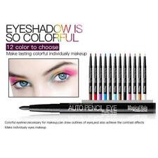 12Pcs Glitter Eyeliner Pencil Augen Eye Liner Kosmetik Skinny-Kajal Makeup Set
