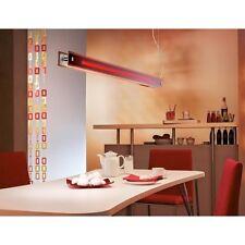 EvoTec Lampe pendentif lumière colour-line Rouge stahlbech 28W / BALLAST 144cm