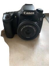 Canon EOS 70D 20.2MP Digital SLR Camera - Black W/ 24mm Lens