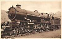 King George V GWR Railway British Railroad UK postcard