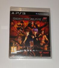 Dead Or Alive 5 VANILLA PS3 New Sealed UK PAL Sony PlayStation 3 Original Rare