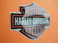 Harley Davidson Aufkleber Bar&Shield mehrfarbig ca. 49,5x39x1,2mm 3D Doming