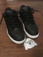 Nike Air Jordan 3 Retro Cyber Monday Sz 9 Black White VNDS iv toro kaws cement