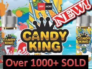 Candy CNDY King 100 E Liquid Vape Juice Tobac Tropic Milk Cookie Ecig Full Range