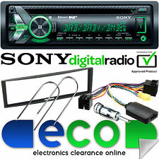 RENAULT Modus 2004-12 SONY DAB BLUETOOTH CD MP3 Auto Stereo & Volante Kit