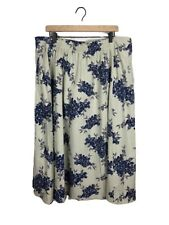 Coldwater Creek Skirt Womens Prairie A Line Floral Plus 2X Festival Pockets Boho