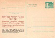 319362) DDR Privatganzsache Nobelpreisträger Santiafo Ramon y Cajal