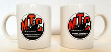Marine Terminals Corporation Pair VTG Mugs Cups Shipping Cargo San Fransisco