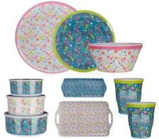 Floral Round Contemporary Serving Plates