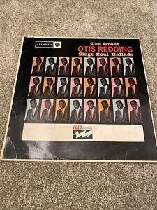 Otis Reading - Sings Soul Ballads LP Vinyl Record (1965) Mono Atlantic 5029