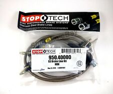 Stoptech Stainless Steel Front Brake Lines For 90-01 Acura Integra Da Db Dc