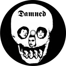 The Damned. Stretcher Case Baby record label vinyl sticker. Punk