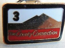 """Vintage Classic """"The County Connection"""" Pin"""