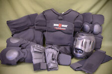 LBT Blauer London Bridge HIGH GEAR System Impact Reduction Suit & Helmet MEDIUM