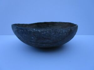 ANTIQUE SOUTH AMERICAN RELIC VESSEL SCULPTURE LARGE 7 INCH ARTIFACT POTTERY OLD