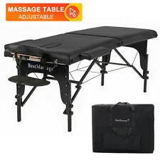 "New 73"" Portable 2"" Padding Folding Massage Table w/Free Carry Case Bed Spa"