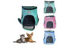 Trasportino zaino cane gatto borsa doppia spalla animali domestici traspirante