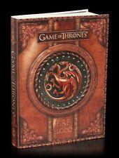 Game of Thrones Notizbuch - Fire and Blood - Targaryen Tagebuch GOT Notiz Buch