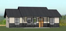 36x20 House -- 2 Bedroom 2 Bath -- 720 sq ft -- PDF Floor Plan -- Model 3B