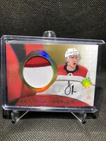 2019-20 Autographed Ultimate Rookies Jake Bean Rookie Patch Auto /49 RC