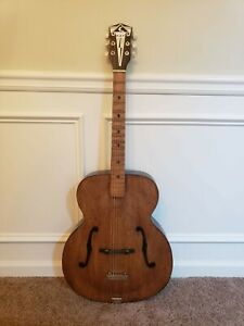 Vintage Kay Archtop Jumbo Acoustic Guitar in Excellent Condition