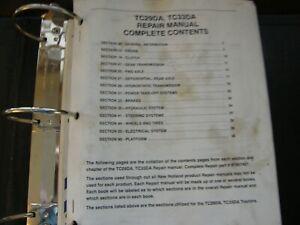 NEW HOLLAND TC29DA TC33DA COMPACT TRACTOR COMPLETE SERVICE MANUAL