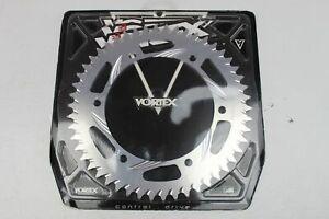 VORTEX 50 TOOTH 520 REAR SPROCKET SILVER PART #249A-50 * CBR1000RR