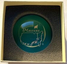 Masters glass paper weight augusta national golf new 2021 masters pga