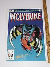 12x18 Marvel Color Prints Wolverine LE #2 Hand Signed by Claremont & Rubinstein
