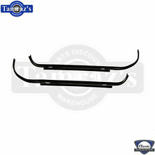 68-72 Chevelle Trunk / Deck Lid Weatherstrip Gutter Channel at Qtr Pnl Side Set