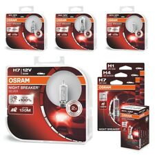 OSRAM Night Breaker SILVER +100% H1 H4 H7 H11 Auto Headlight Car Bulbs