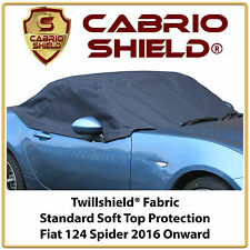 Fiat 124 Car Hood Soft Top Roof Cover Half Cover Standard Protection 2016 Onward