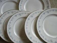 Royal Doulton English Fine Bone china ANGELIQUE 8 inch plates x 6