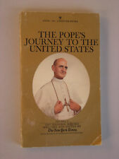 THE POPES JOURNEY TO THE UNITED STATES Paul VI 1965 pb