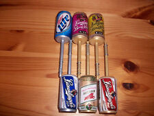 Beer Can Fishing Bobber Set- Leinenkugel's & Miller- Christmas Stocking Stuffers